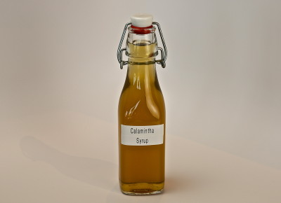 Calamintha Simple Syrup