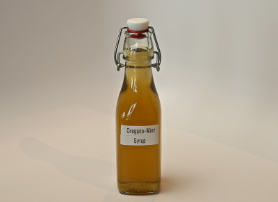 Oregano-Mint Simple Syrup