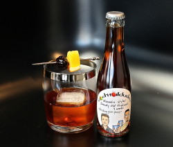 Barrel-Aged Brandy Old Fashioned
