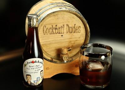 Barrel-Aged Rum Old Fashioned