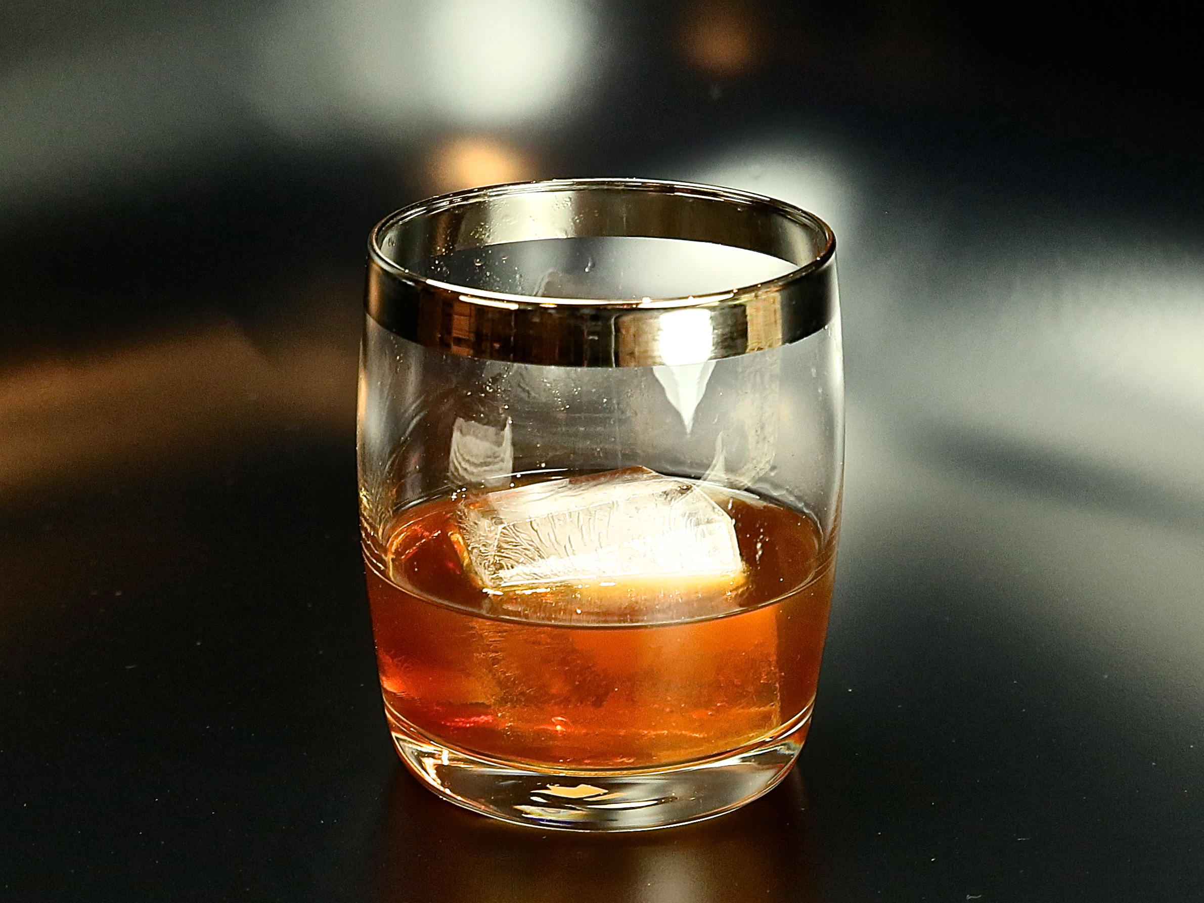 Rum Old Fashioned | cocktaildudes