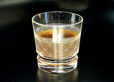 Old Fashioned Orange Juicers Glass