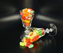 Cocktail Gummy Bears