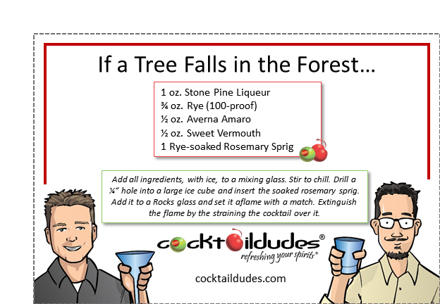 If a Tree Falls in the Forest… | cocktaildudes
