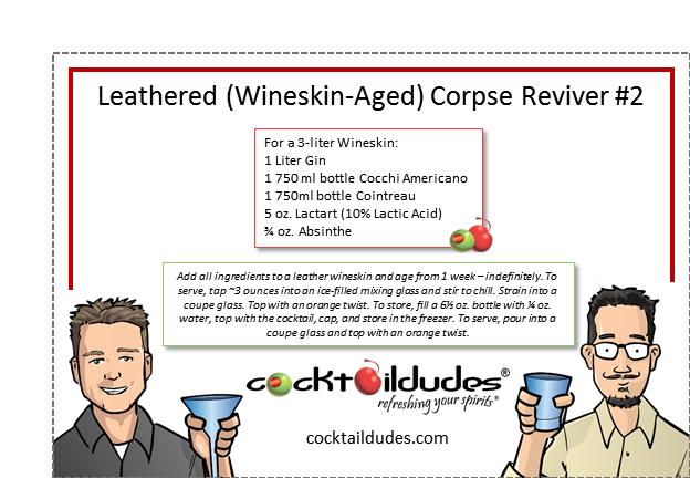Corpse Reviver #5 Recipe — Dishmaps