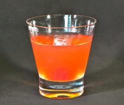 Rhubarb Manhattan