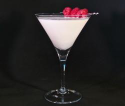 White Chocolate Raspberry Martini