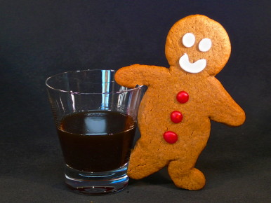 Gingerbread Man-Hattan