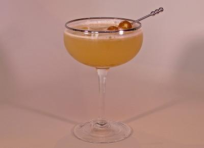 Ground Cherry Martini